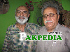 With Altaf shaikh