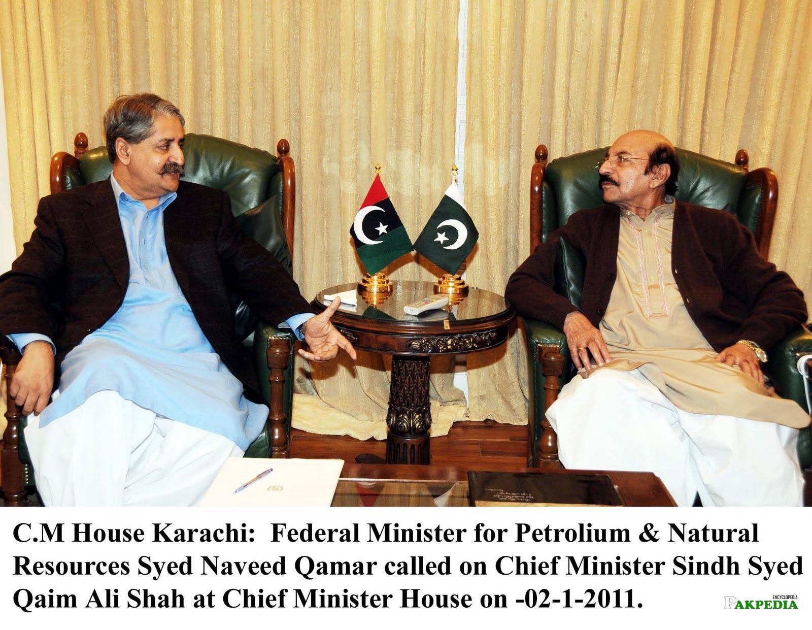 With Syed Naveed Qamar
