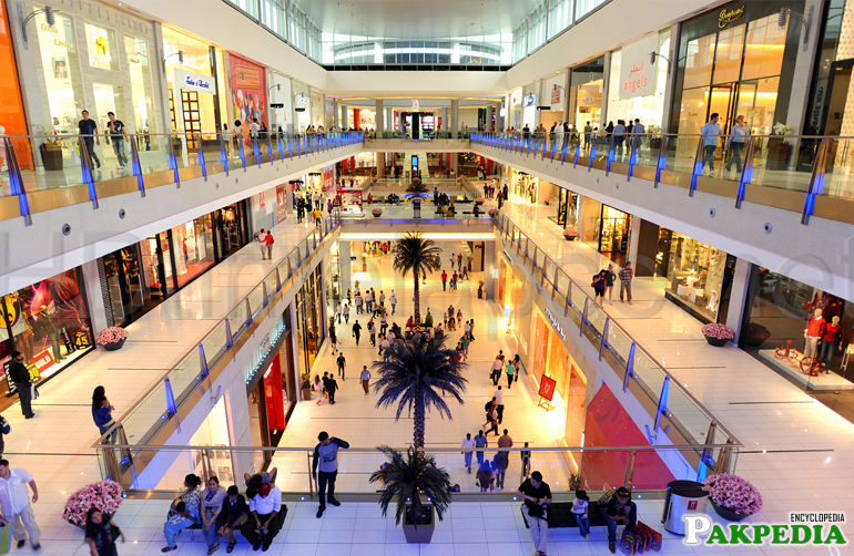 Mall of Lahore clean and fully Air condition