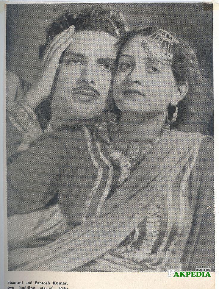 Santosh in movie Shammi