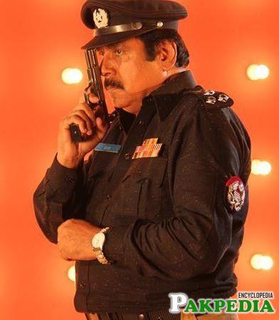 Ashraf Khan in police uniform