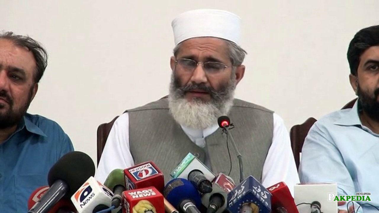 Ameer Jamaat e Islami Siraj ul Haq Press Conference About Karachi Situation 29 June 2015