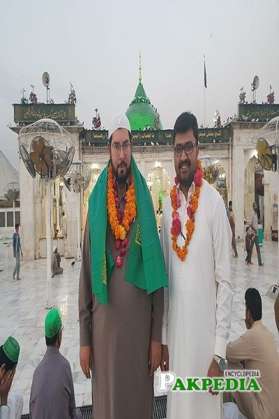 Sardar Ghazanfar Ali at Hazart Ali Hajwari Ganj Baksh