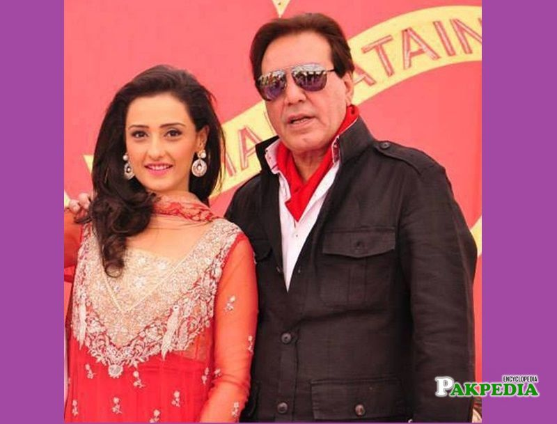 Momal with Javed Sheikh