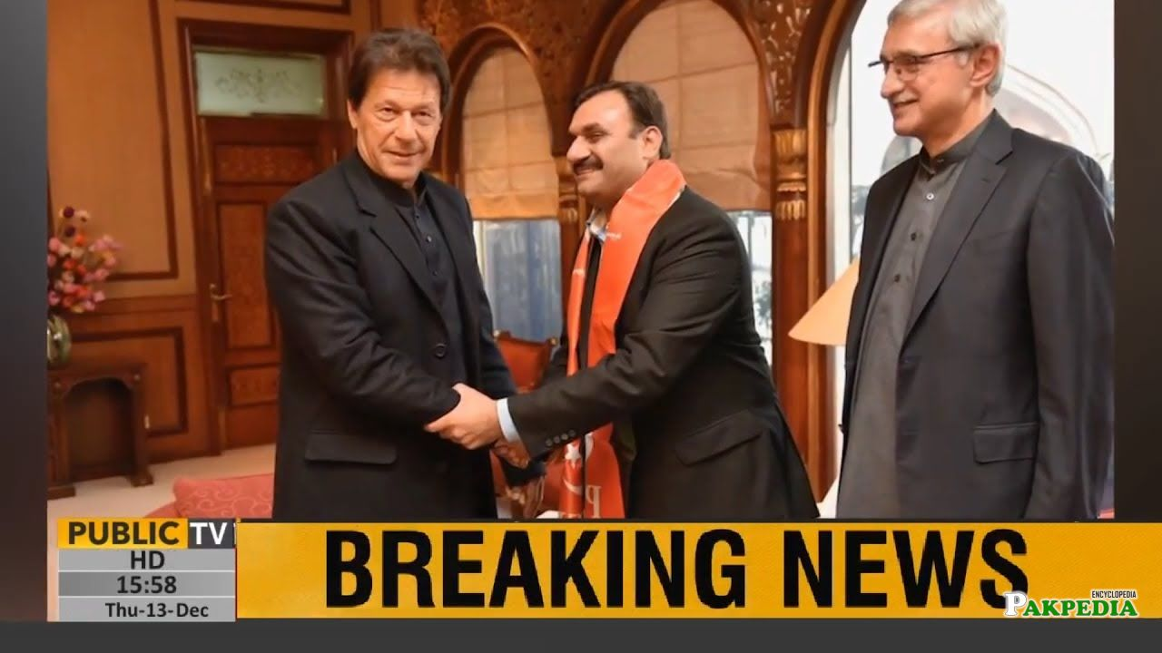Shaukat basra joins PTI