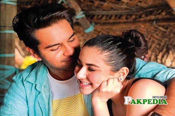 Asim Azhar with Hania Amir