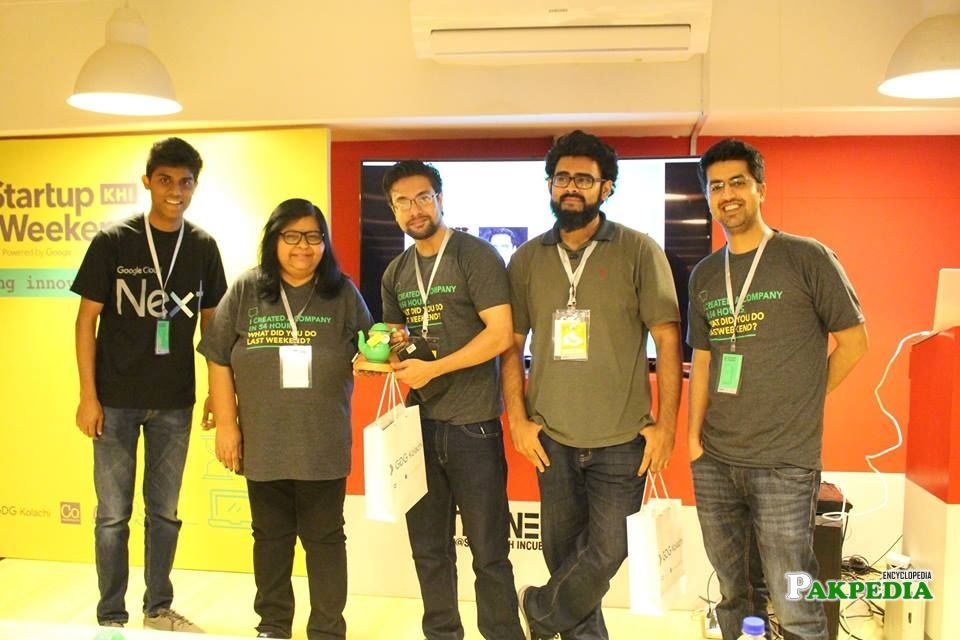 With Google employees