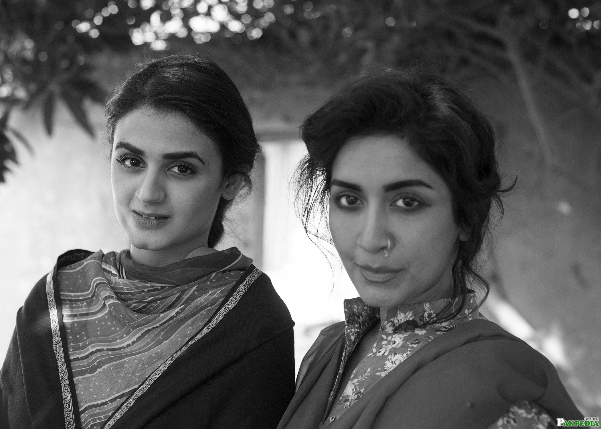 Saman Ansari and Hira Jamal