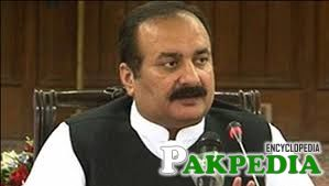 Rana Mashood Ahmad Khan at Meeting