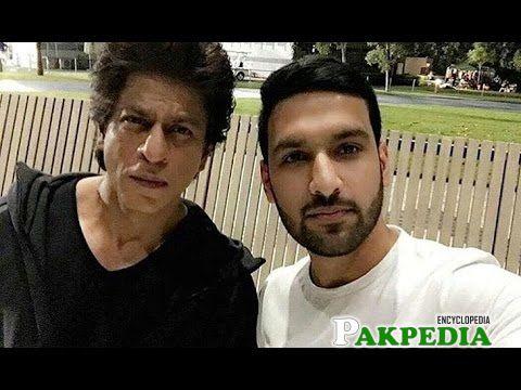 Zaid Ali with Shahrukh Khan