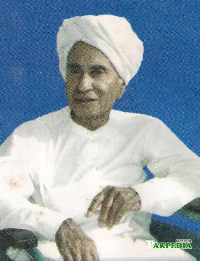 Ghulam Murtaza Syed was a Sindhi nationalist