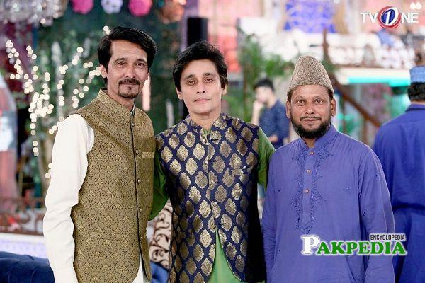 Hassan Ayaz with Sahir Lodhi