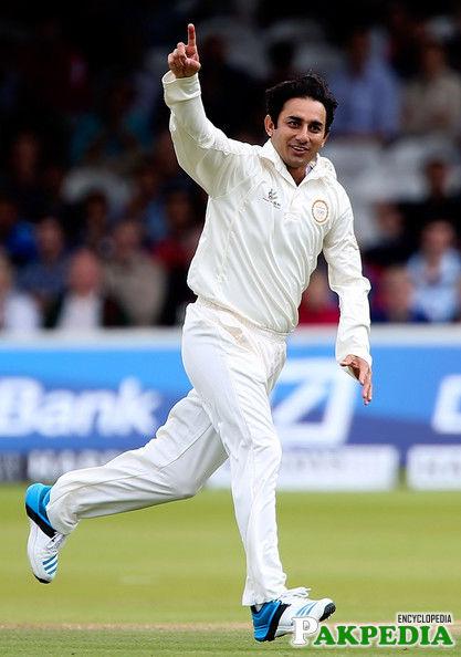 Saeed Ajmal in Test match