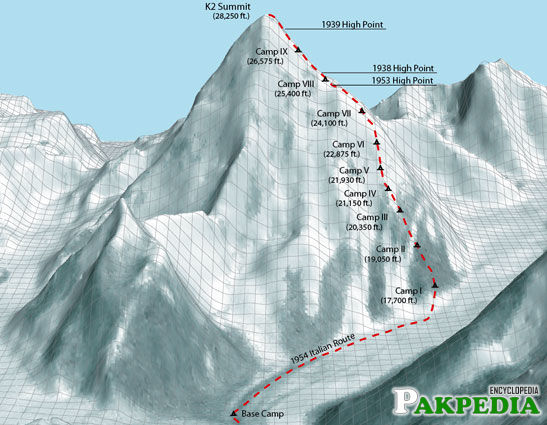 K2 is known as the Savage Mountain