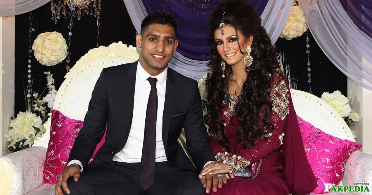 Engagement of amir and faryal