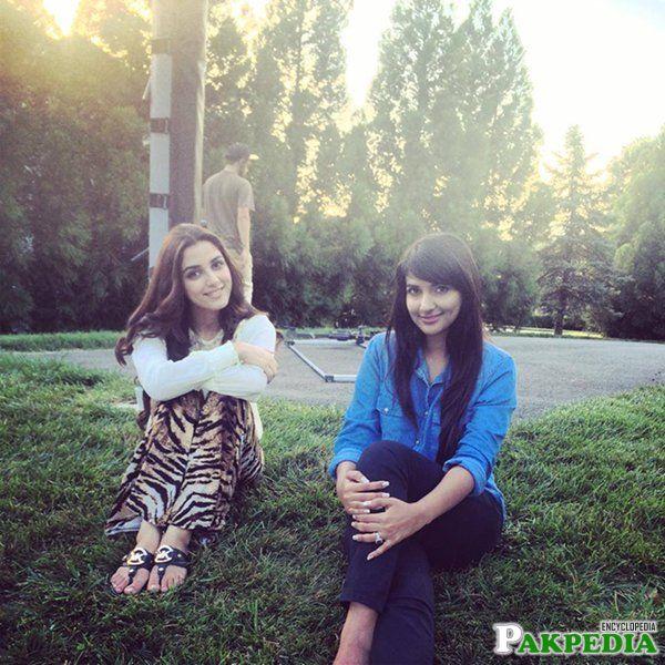 Rubab and Maya Ali