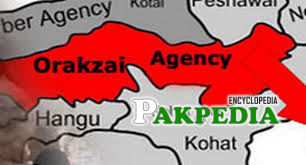 Map of Orakzai Agency