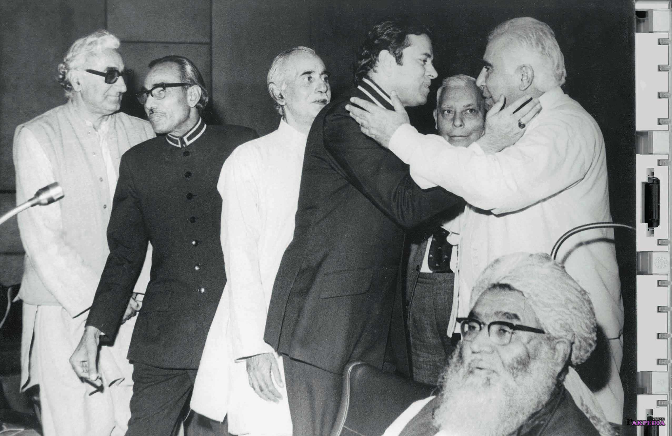 An old photo of Abdul Jamil Khan