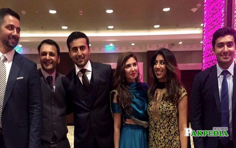 Mahira Khan family