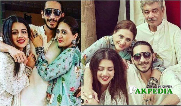 Zara Noor Abbas Family