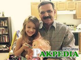 Asim Saleem Bajwa with his cute daughter