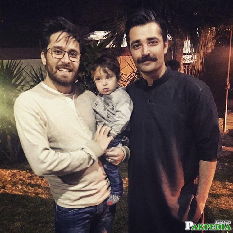 With Hamza Ali abbasi