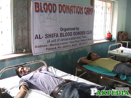 Shifa Blood Bank Donaite Blood