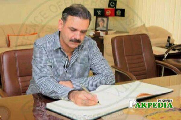 Asim Saleem Bajwa cpec