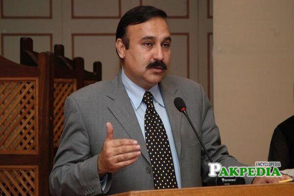 Tariq Fazal Chaudhry Biography