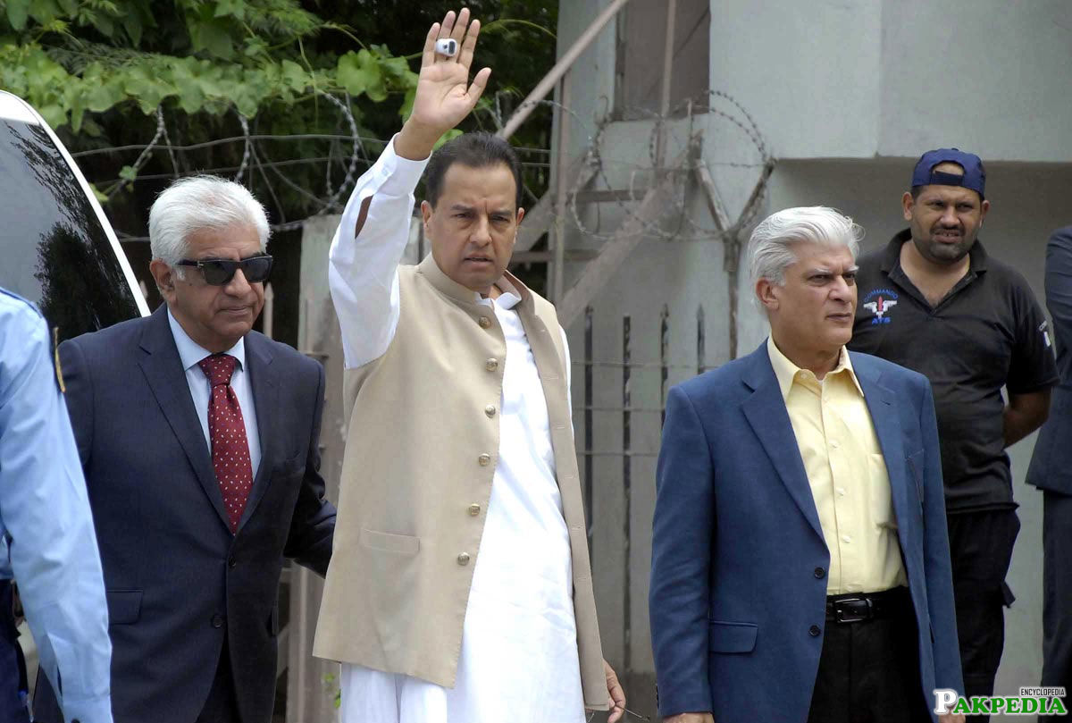 Safdar Awan Member of PMLn