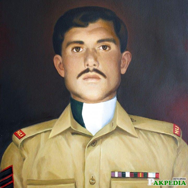 Saif Ali Janjua in Uniform