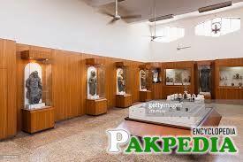 Asia, Pakistan, Karachi, Interior of National Museum of Pakistan.