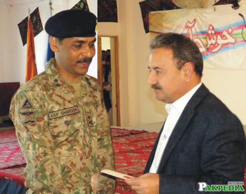Asif Ghafoor appointed DG ISPR