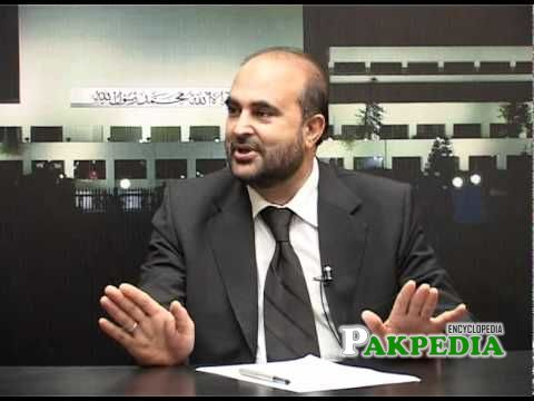 ghulam farooq awan in a Talk show