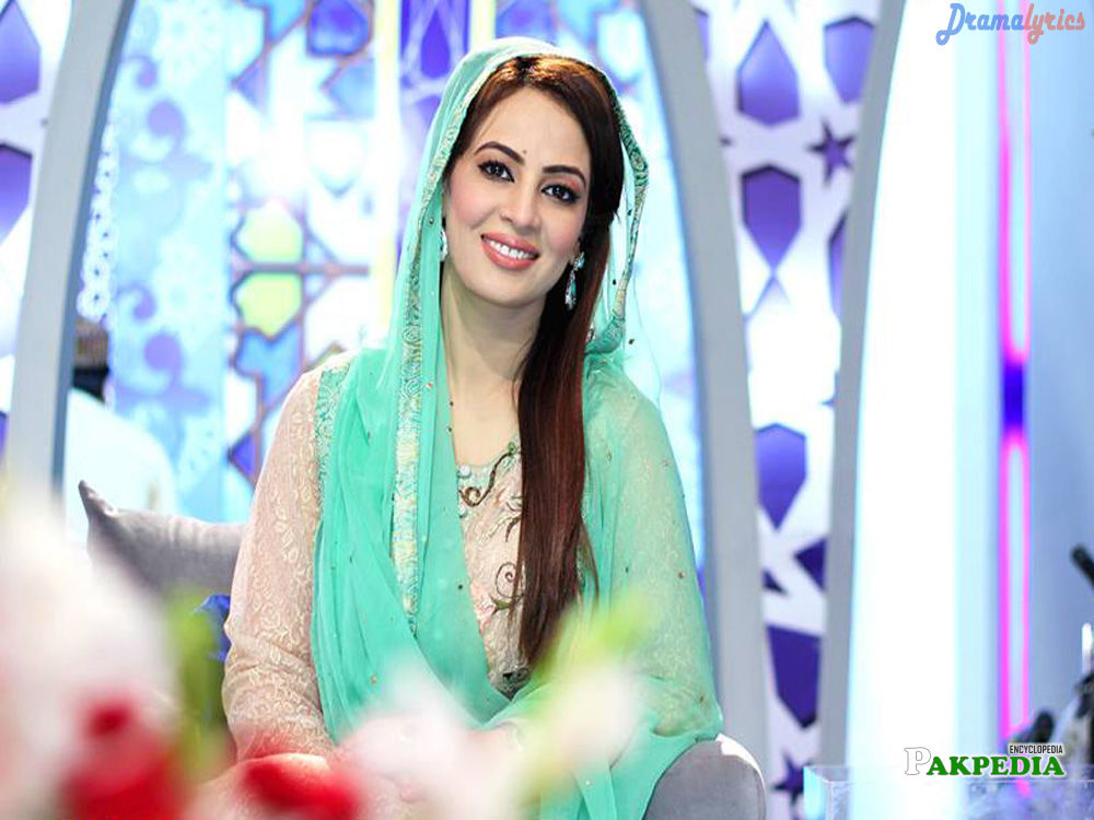 Pakistani Actress and Presenter
