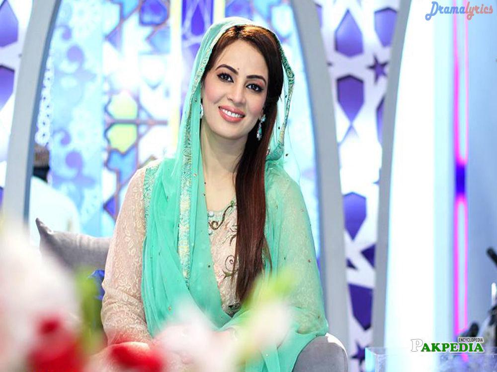 Pakistani Actress and Presenter