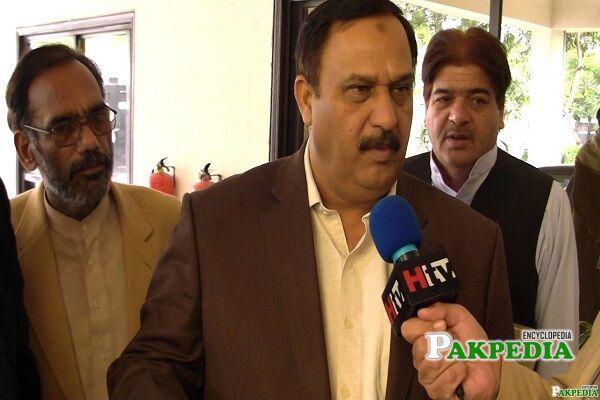 Malik Abrar Ahmad Party