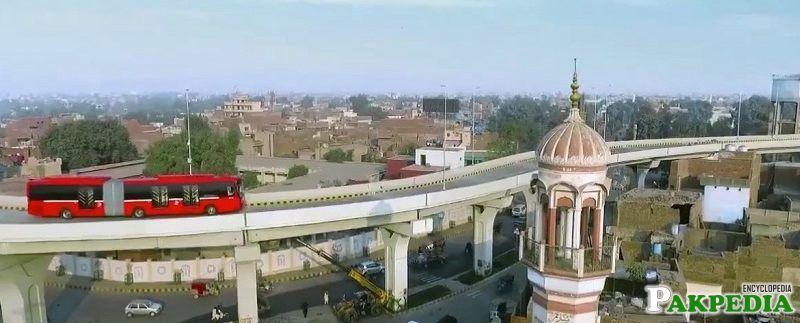 Metro Bus of Multan