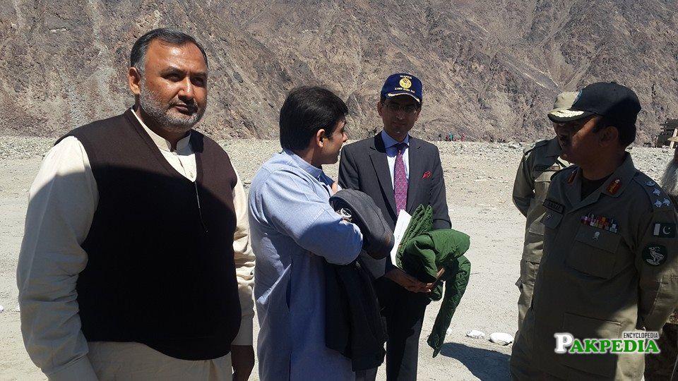 Bhasha Dam site visit