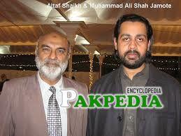 With Altaf Sheikh