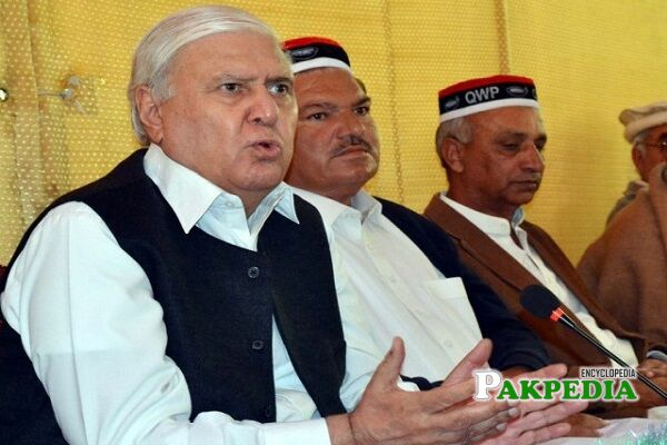 Aftab Ahmad Khan Sherpao contact number