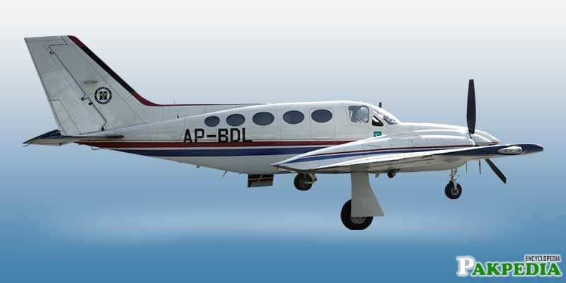 Hybrid chartered plane