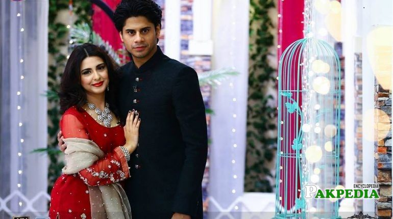 Mohammad haris with his wife in a morning show
