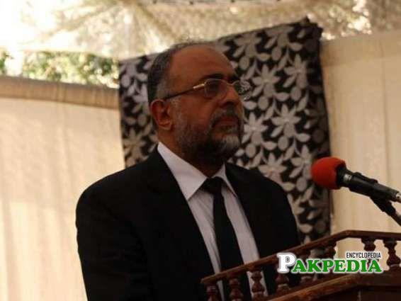 Former Chief justice Sajjad Ali shah