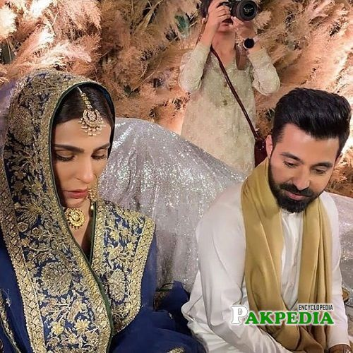 Sadia Ghaffar and Hassan Hayat khan got married