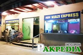 Niazi Express ticket counter