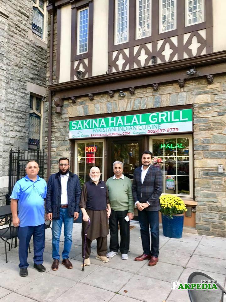 Guest visits restaurants from pakistan