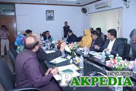 Raja Ashfaq Sarwar at Meeting