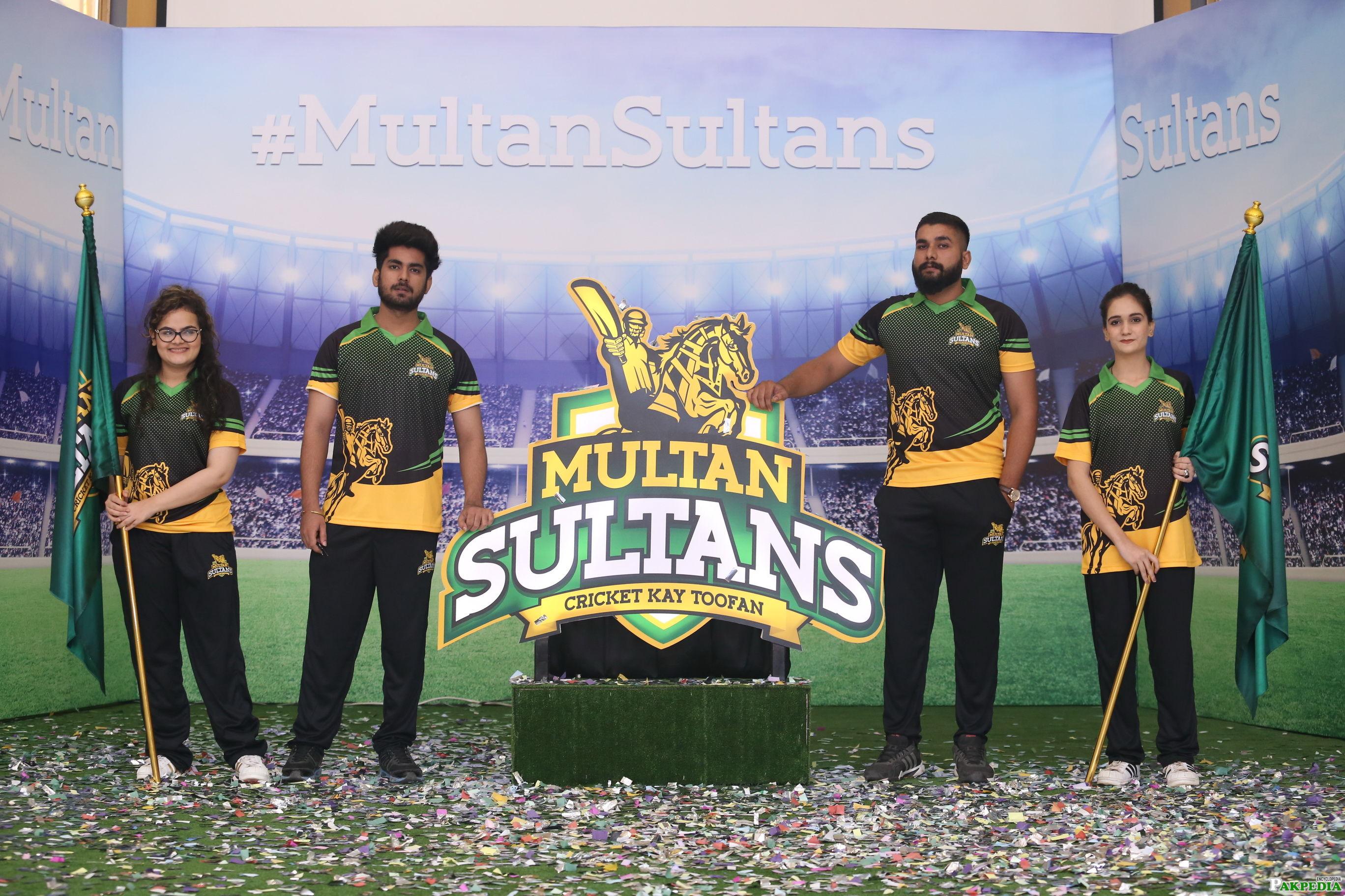 Multan Sultans th Team of PSL Pakistan