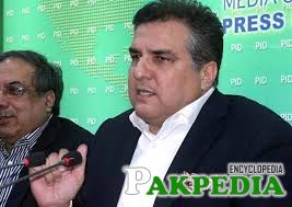 Daniyal Aziz at PID